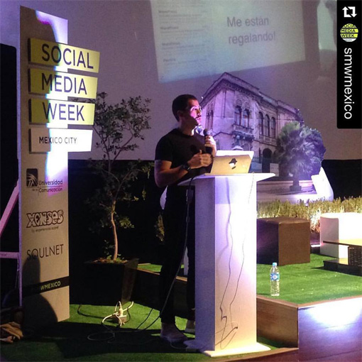 Charla de Daniel Granatta - Social Media Week CDMX 2016