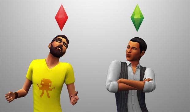 Diamante de los Sims
