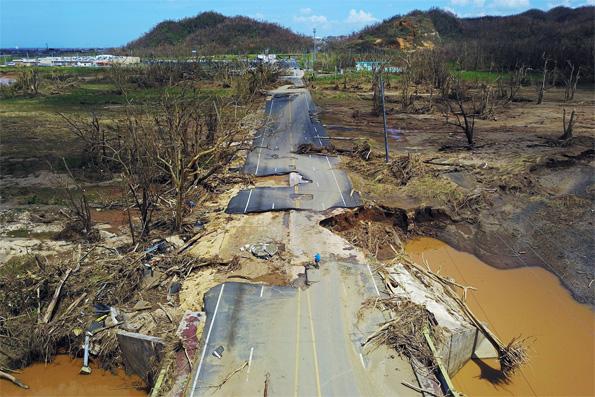 Aftermath Huracán María - Puerto Rico