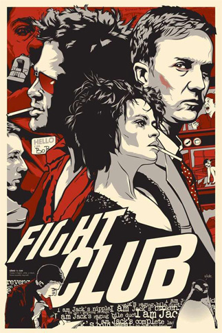 Poster de la película FIGHT CLUB