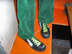 cool shoes, Notting Hill Arts Club
