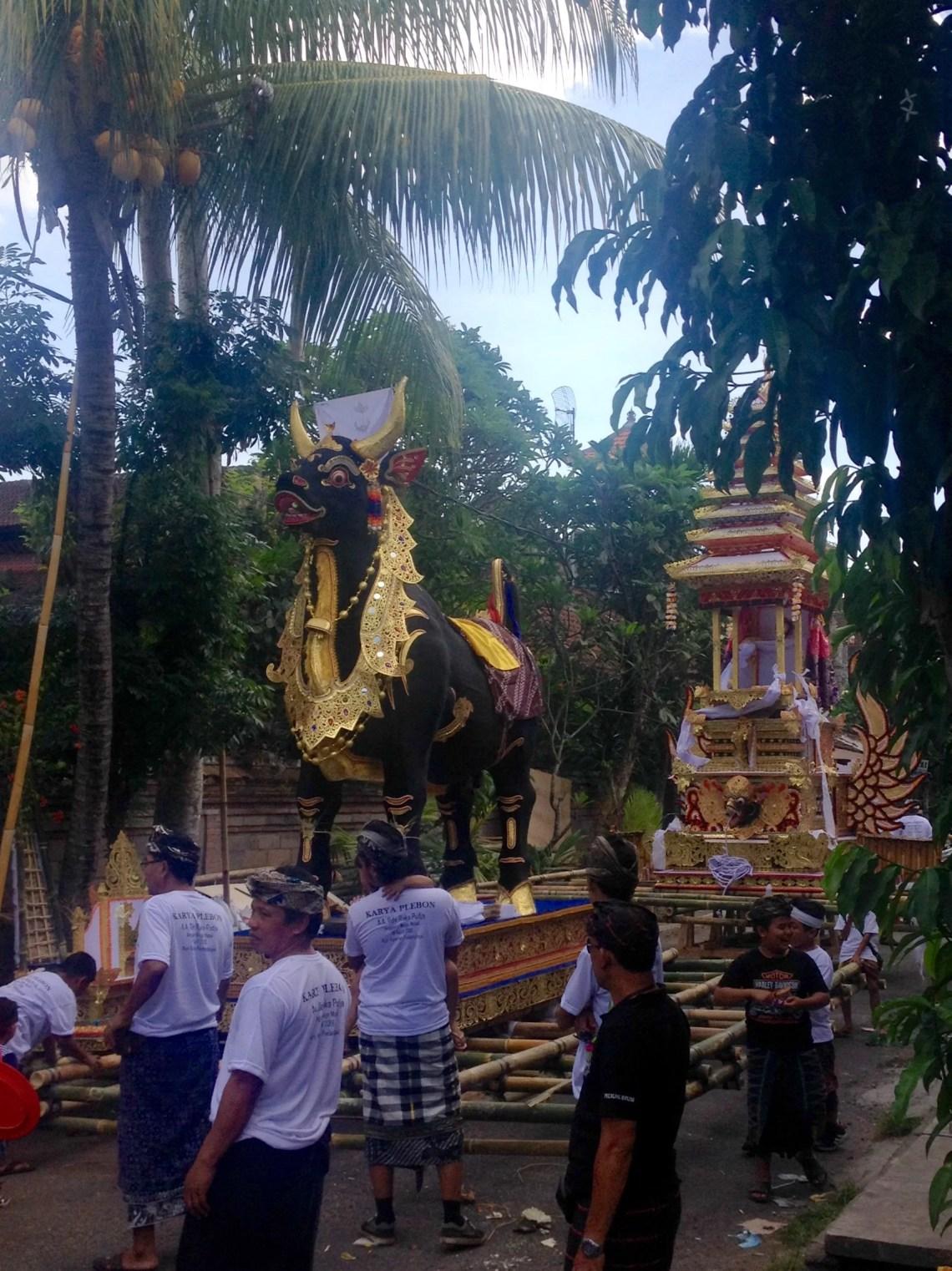 Local Ceremony in Ubud