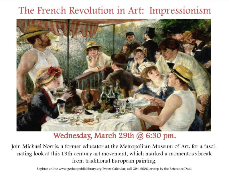 Lecture on Impressionism dpf