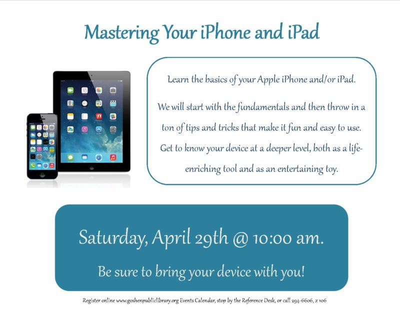 Mastering your iPhone and iPad dpf