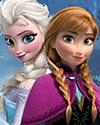 王女・エルサとその妹・アナの姉妹
