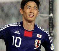 日本代表MF香川真司