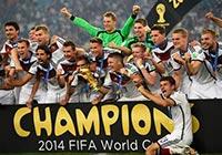 優勝を喜ぶドイツ代表