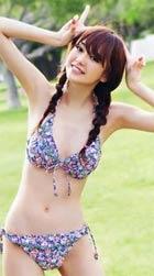 桐谷美玲 モデル時代の水着