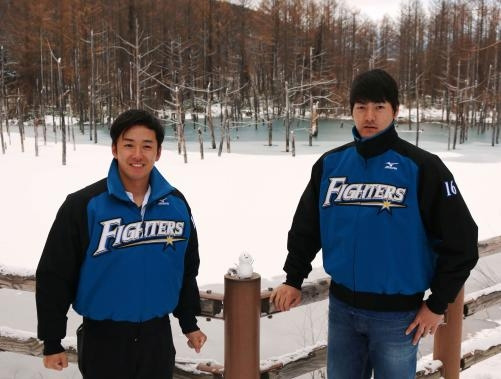 斎藤佑樹投手(28)と有原航平投手(24)
