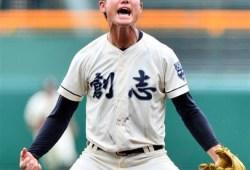 【甲子園】創志・西投手ガッツポーズを禁止され乱調!?逆転負けに「リズムが狂った」 なぜ禁止?