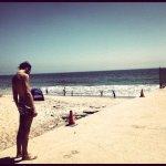Marco-in-spiaggia-a-L.A.