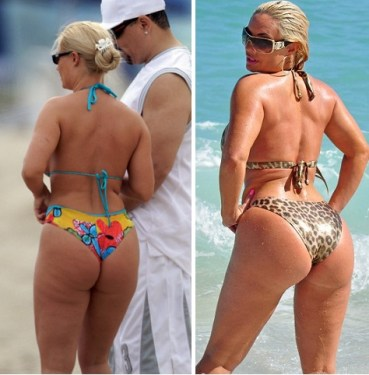 Ice-T's family beach vacation in Miami