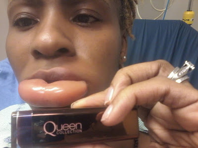 OMG!!! Don't Miss This Warning, See The Lipstick That Ruined This Girls Lips (Must See Photos)