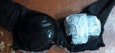 Photos: Nigerian Woman Nnaji Juliet Ijeoma Arrested At Airport With 535 Grams Of Cocaine Hidden Inside Her Bra