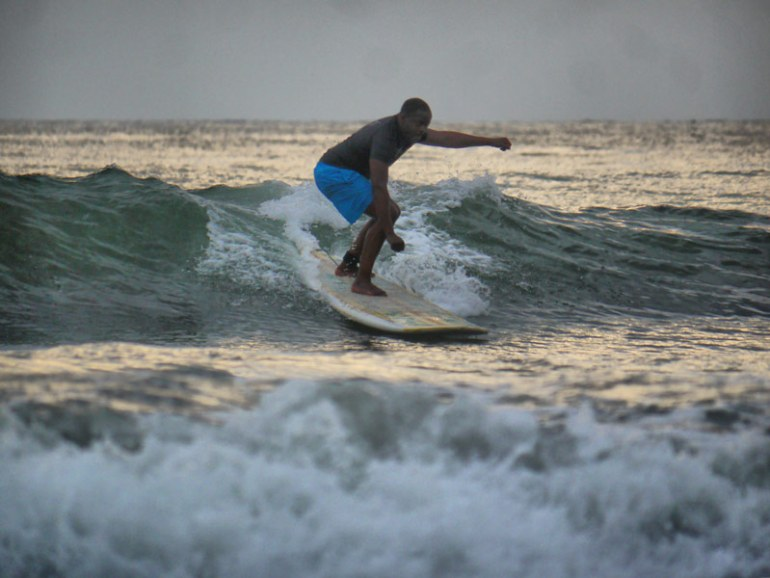 Mase's First Time on a Surf Board - A Great Surfing Lesson with Jaco Surf School