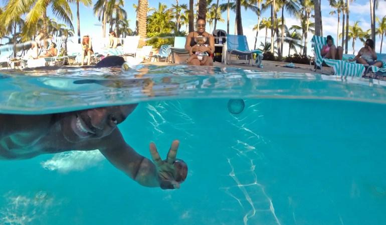 How to Take Underwater Split Shot Photos