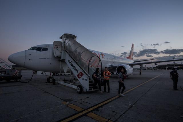 アスンシオンtoサンパウロはデルタ航空提携のGOL航空便