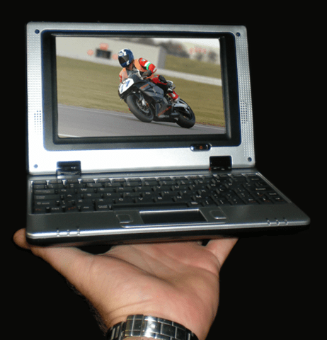 the razorbook 400 mini notebook pc from 3k computers