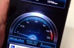Galaxy Nexus 4g lte speed test