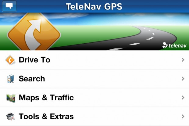 Telenav GPS for iPhone