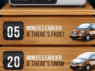 Winter Wakeup App
