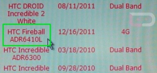 HTC Fireball