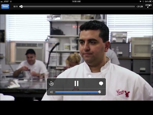 Netflix Video on iPad
