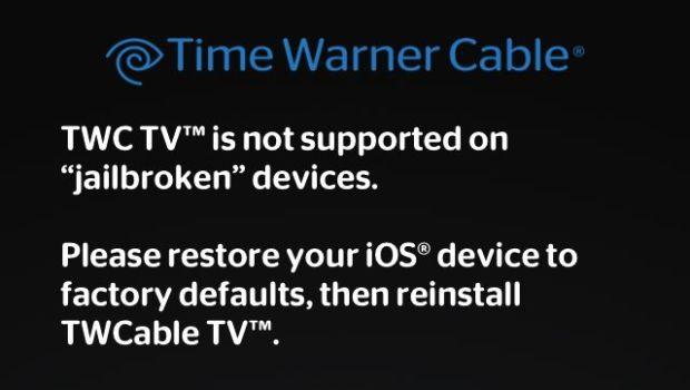 don't jailbreak iPad 2 Time Warner