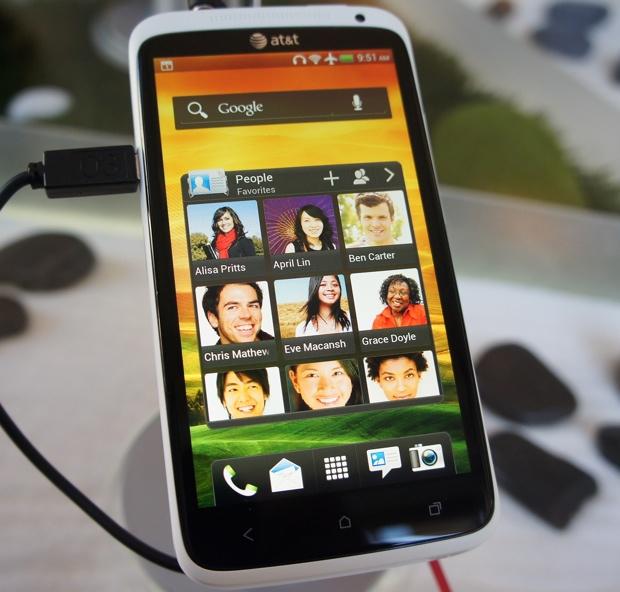 HTC One X - HTC Sense 4.0 Widgets