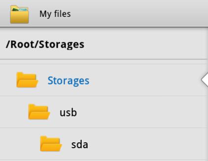 My Files App Storages Folder Galaxy Tab