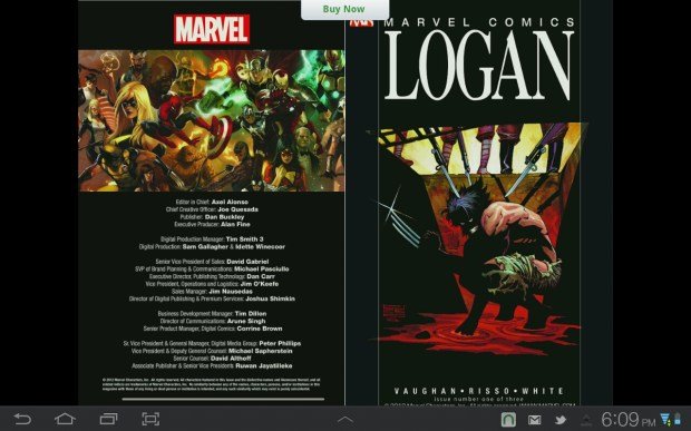 Wolverine: Logan sample