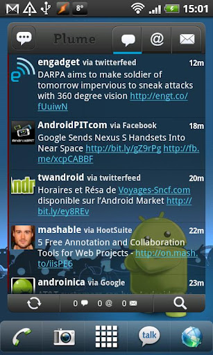 Twitter Widget iPhone 5 iOS 6