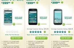 US Ceulluar prepaid phones
