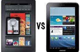 Kindle Fire vs Galaxy Tab 2 7.0
