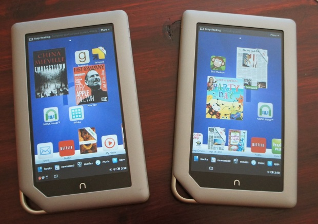 Nook Tablet 16GB and 8GB
