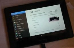 BlackBerry PlayBook 4G LTE Photos Surface