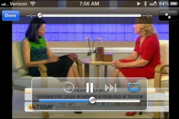 watch live tv on iPad iphone