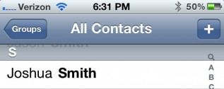 How to get rid of duplicate contacts on the iPhone