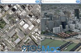 iOS 6 Maps mockup