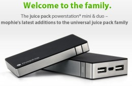 Mophie Juice Pack PowerStation Mini and Duo