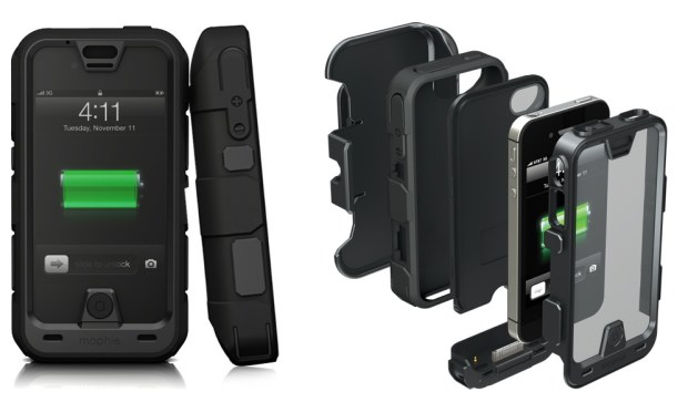 Mophie Juice pack pro rugged battery case for iPhone 4s