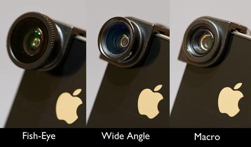 Olloclip iPhone 4S lens kit