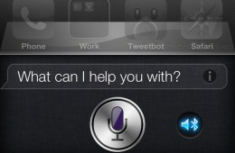 Siri Bluetooth Choice