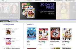Google Play adds tv shows and magazine subscriptions