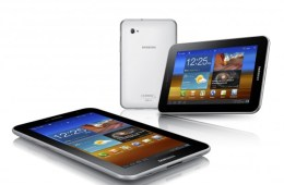 The Galaxy Tab 7.0 Plus ICS update has begun to roll out.