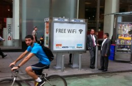 New York Payphone WiFi Hotspot
