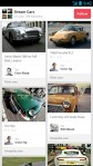 Pinterest Android App Screen - Cars