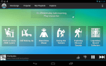 Songza Android Tablet app