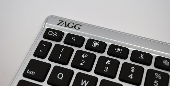 Zagg Flex Keyboard Review - Nexus 7 keys