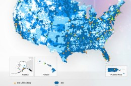AT&T 4G LTE coverage